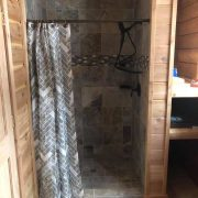 Moose Cabin Bathroom Shower