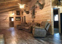 Moose Cabin Living Room