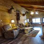 Moose Cabin Living Room 3