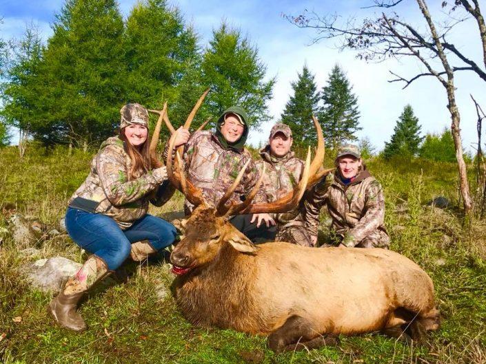 Sorensen Family Elk