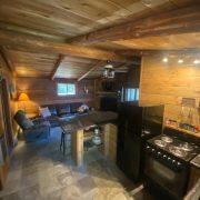 kitchen 3 wolf cabin