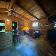 living area 2 wolf cabin