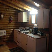 Bear Cabin Kitchen
