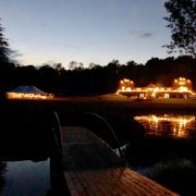 Wilderness Weddings Night Lighting