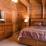 Guest Bedroom at the Rustic Lodge | The Wilderness Reserve