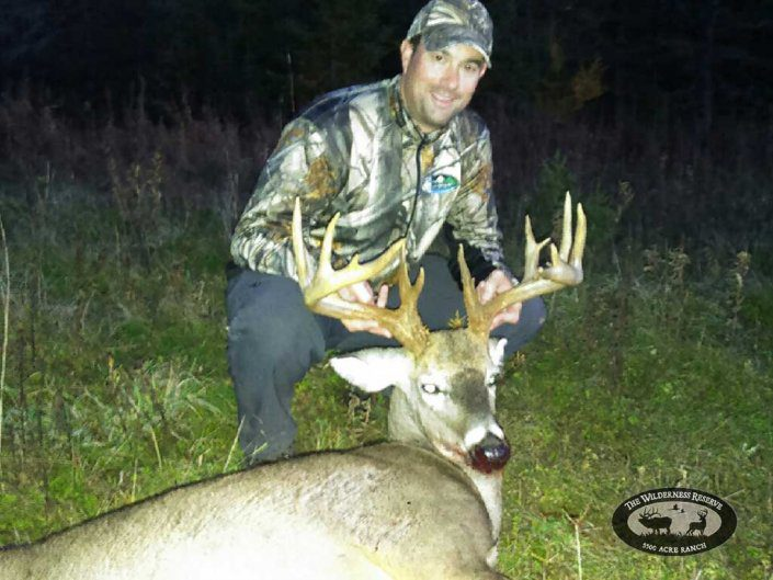 Successful Guided Whitetail Hunt