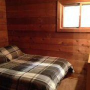 Wolf Cabin Bedroom
